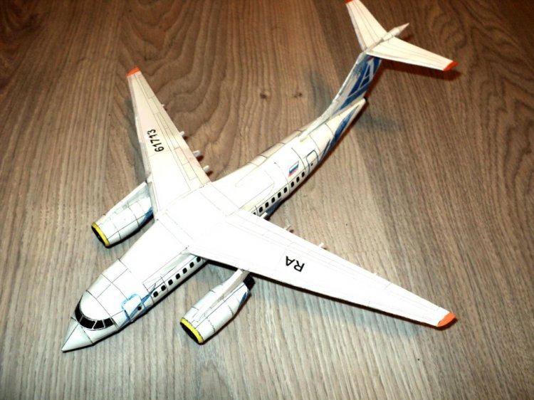 Бумажная модель самолета Ан
