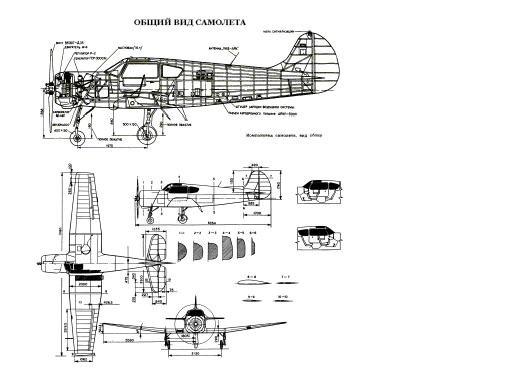 Технические характеристики самолета Ан-2