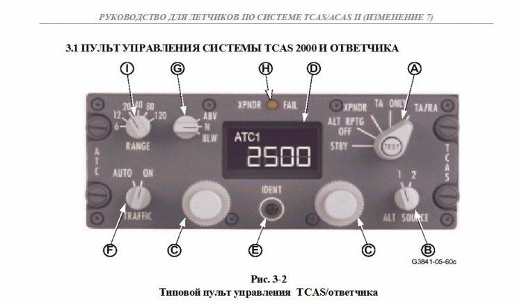 Tcas-94 инструкция по эксплуатации - фото 8