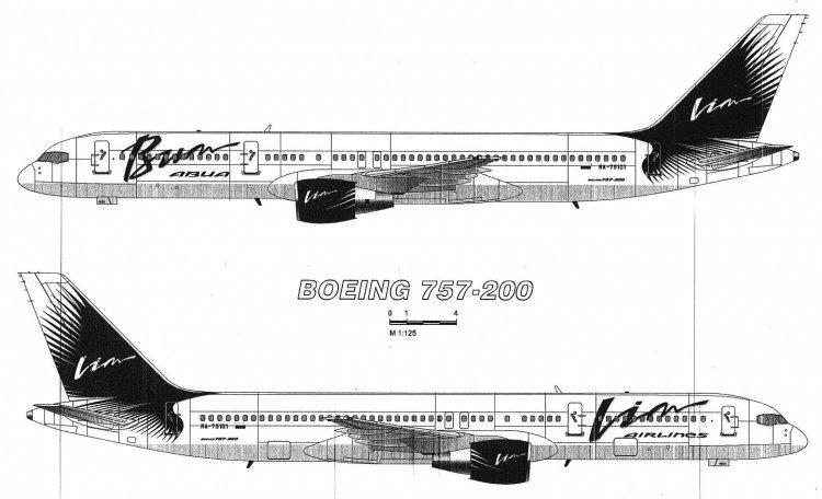 Живых самолетов в такой ливрее
