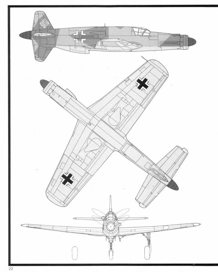чертежи немецкого самолета