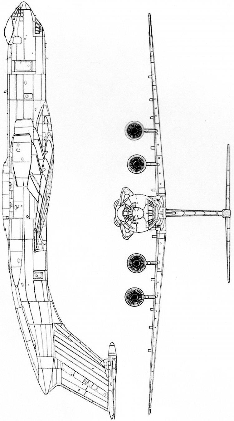схема сборка модели ил 76