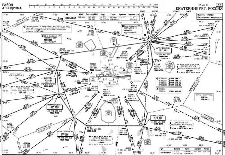 Схемы аэропорта Екатеринбург