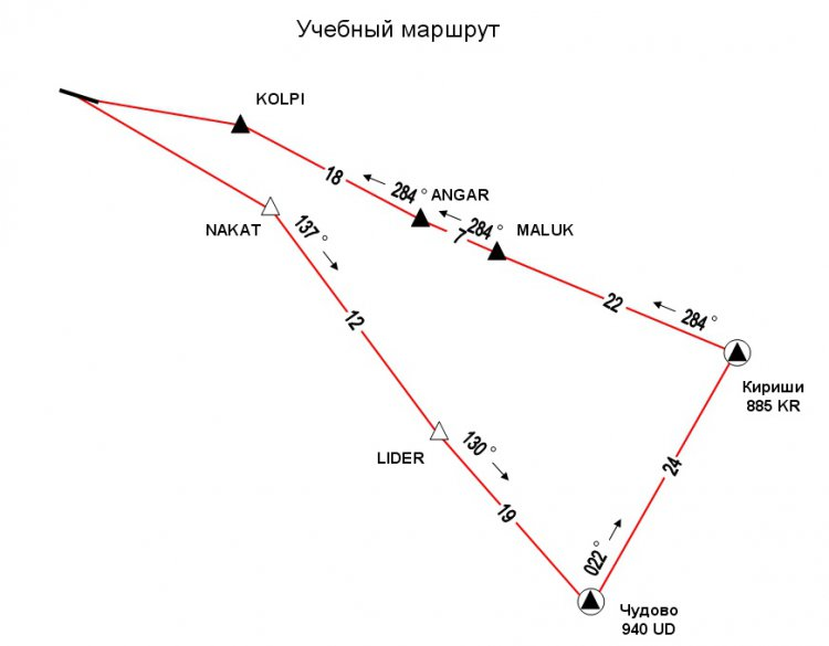 Схемы и план маршрута для