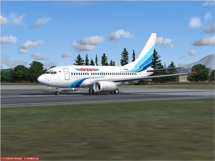 Боинг 737500 yamal fs2004 Лив�еи и �ек����� для