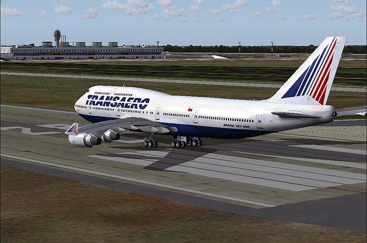 боинг 747 400 трансаэро,