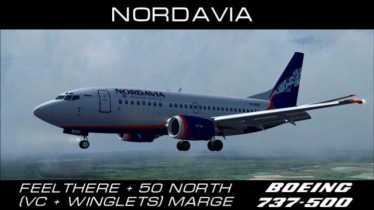 схема салона boeing 737-500 nordavia