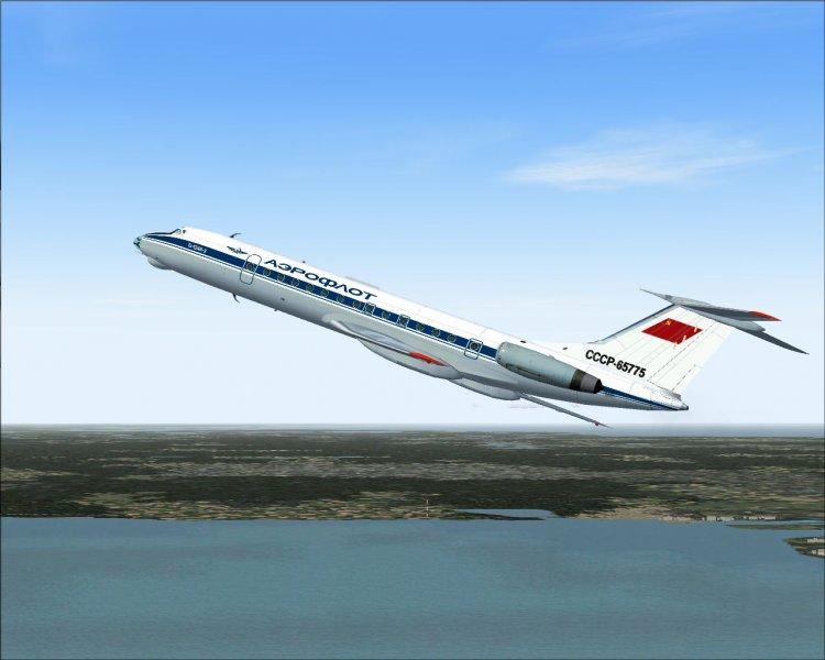 Скачать ту-134 для fsx.