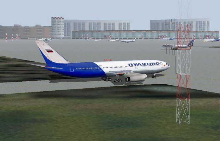 """Строящийся аэропорт """"Омск"""