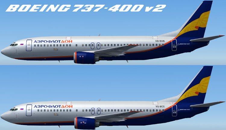 400 аэрофлот дон оценка 5 fs2004 ai самолеты
