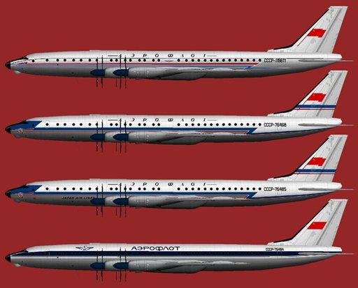 The Tu-114 (NATO reporting
