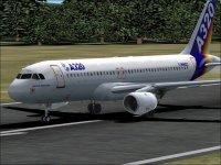 Лицензия.  6 320kb. pa320aih.zip.  Самолет Аэробус А320-100 от Project Airbus.  Домашняя раскраска, VC.