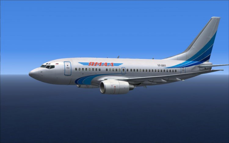 Ливрея ак Ямал для Boeing