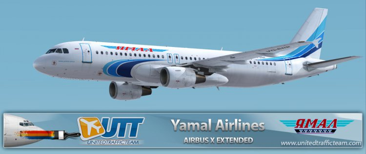Airbus X Extended A320 Yamal