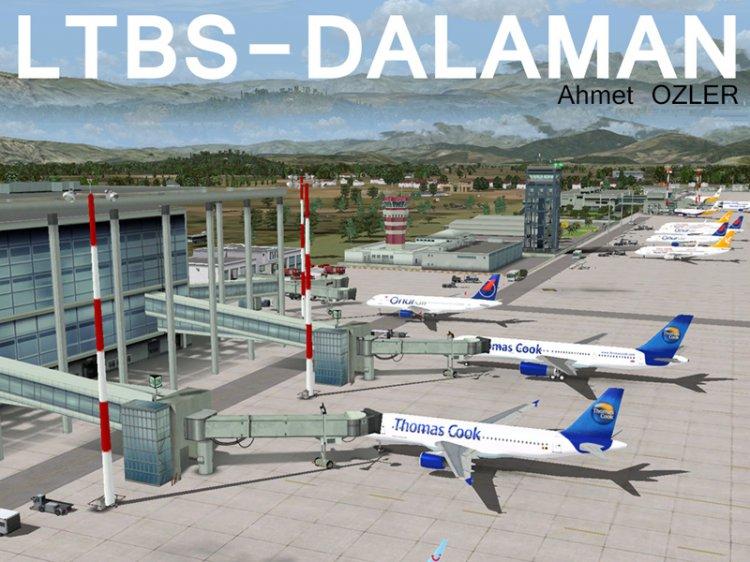 Аэропорт Даламан, Турция