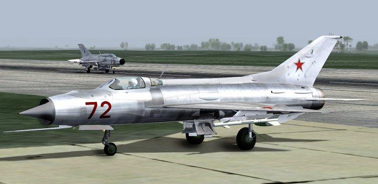 МиГ-21 ПФ Е-7/2 в ФС-2004.