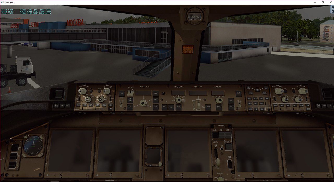 777 Ramzzess, кабина  - Самолеты для X-Plane 10 - AVSIM su