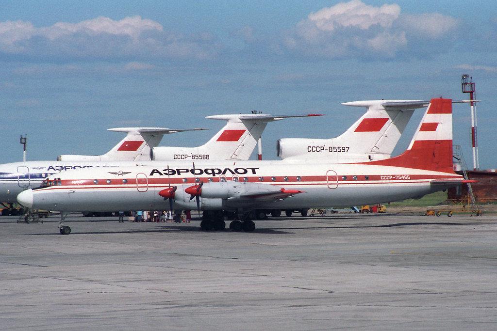 CCCP-75466 IL-18 Aeroflot