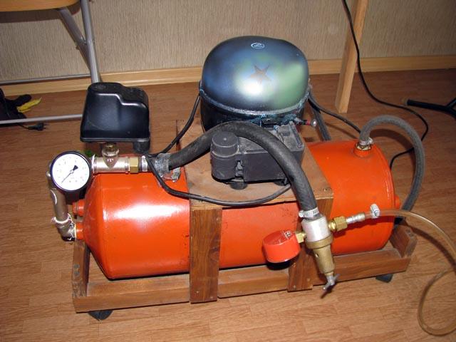 Как сделать самим компрессор