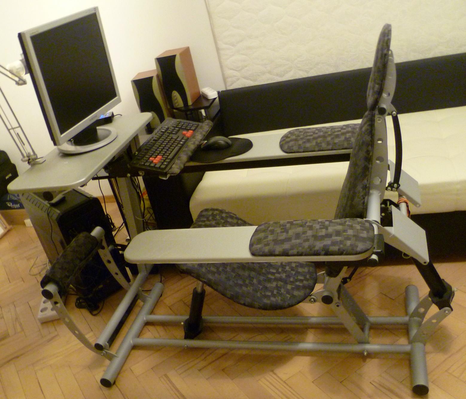 Как сделать игровой стул