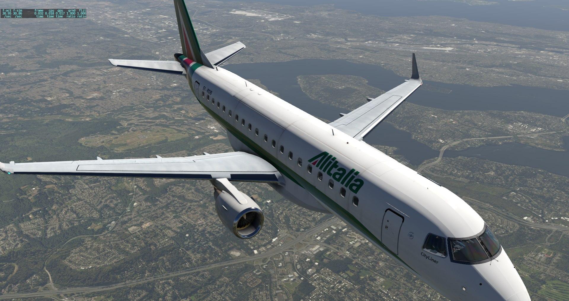 Embraer E175 допил под X-Plane 11 - Самолеты для X-Plane 11 - AVSIM
