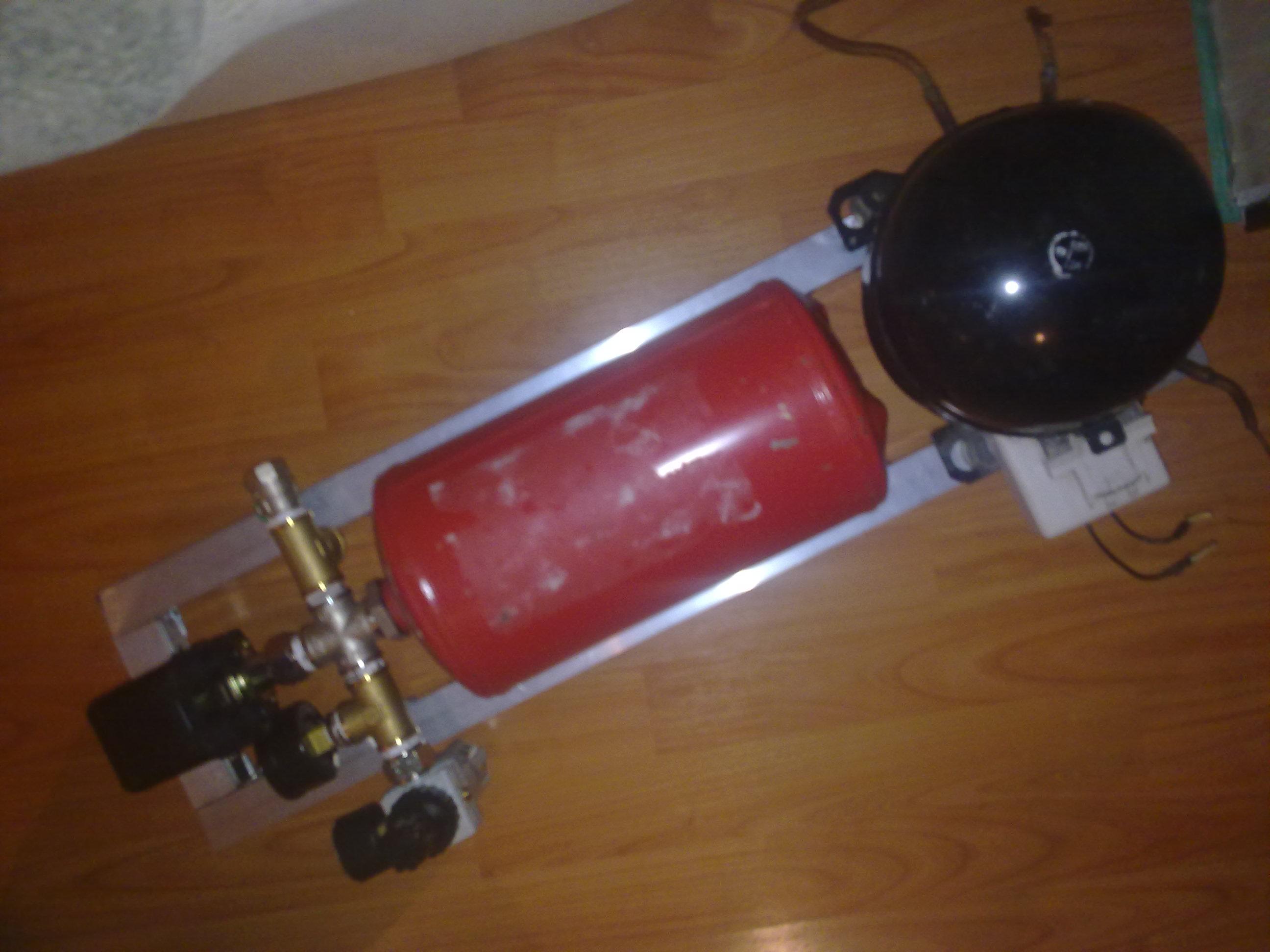 Как сделать газовый компрессор своими руками 522