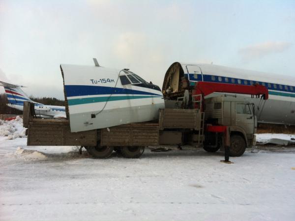 Вторая жизнь Ту-154м RA-85672. Проект Ивана Клепцова.