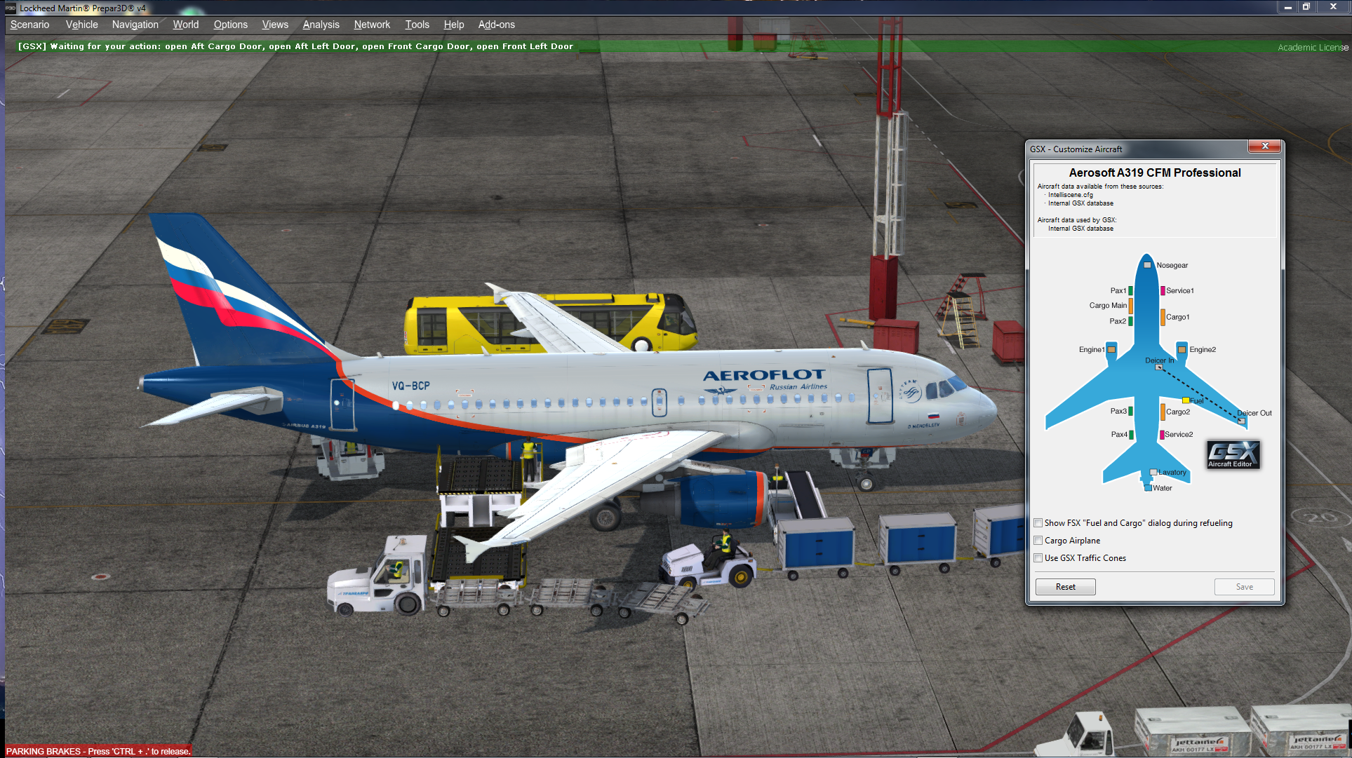 GSX (Ground Services for FSX/P3D) от FSDreamTeam - Page 43